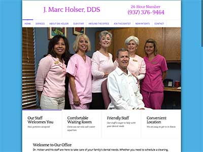 Medical Website example