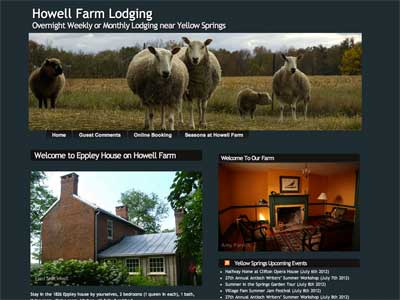 Howell Farm Lodging Demo for Listen to the Wind Media