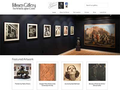 Art Gallery Website
